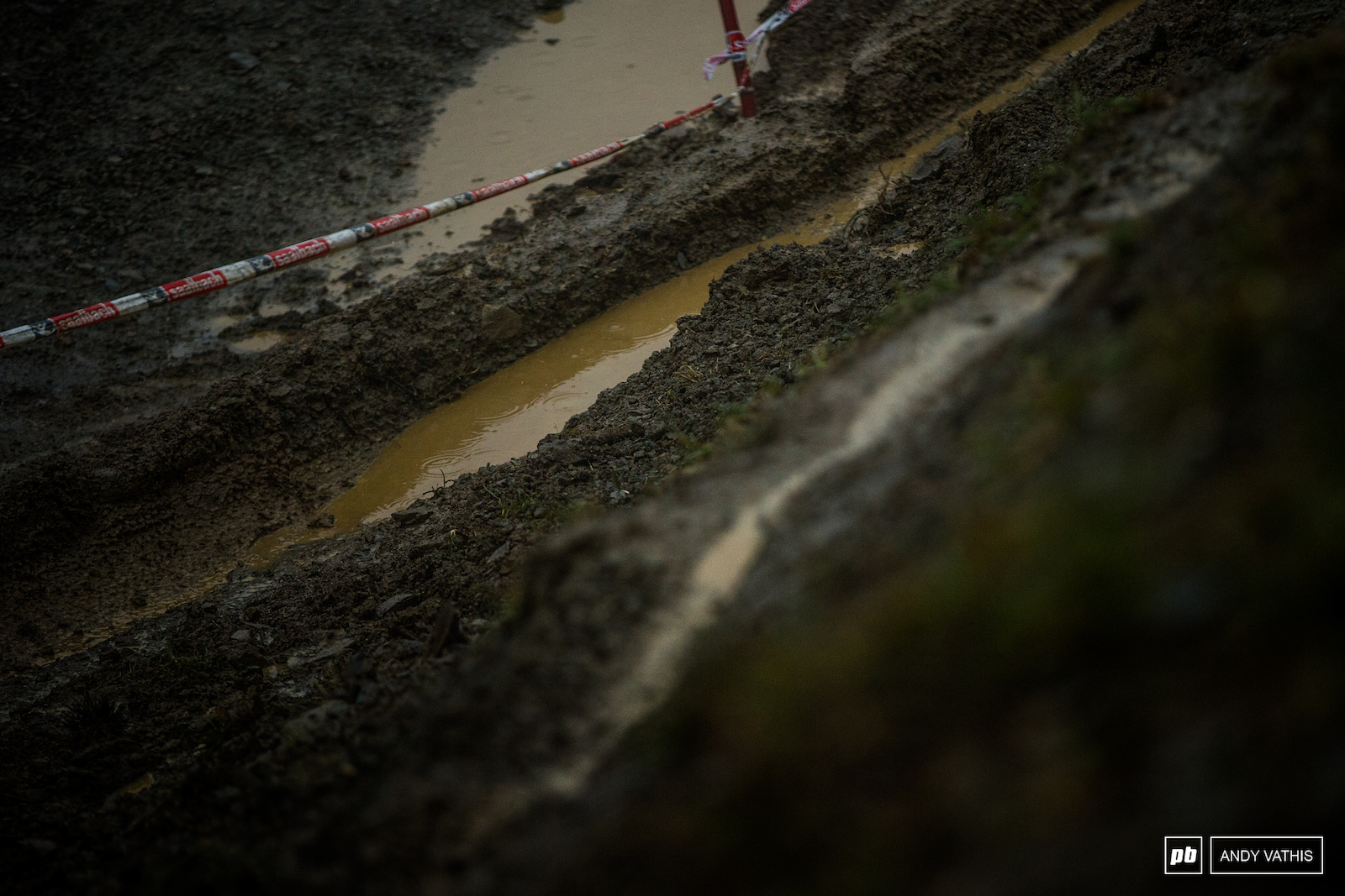 It goes without saying that the track is annihilated after all the weather we ve had.