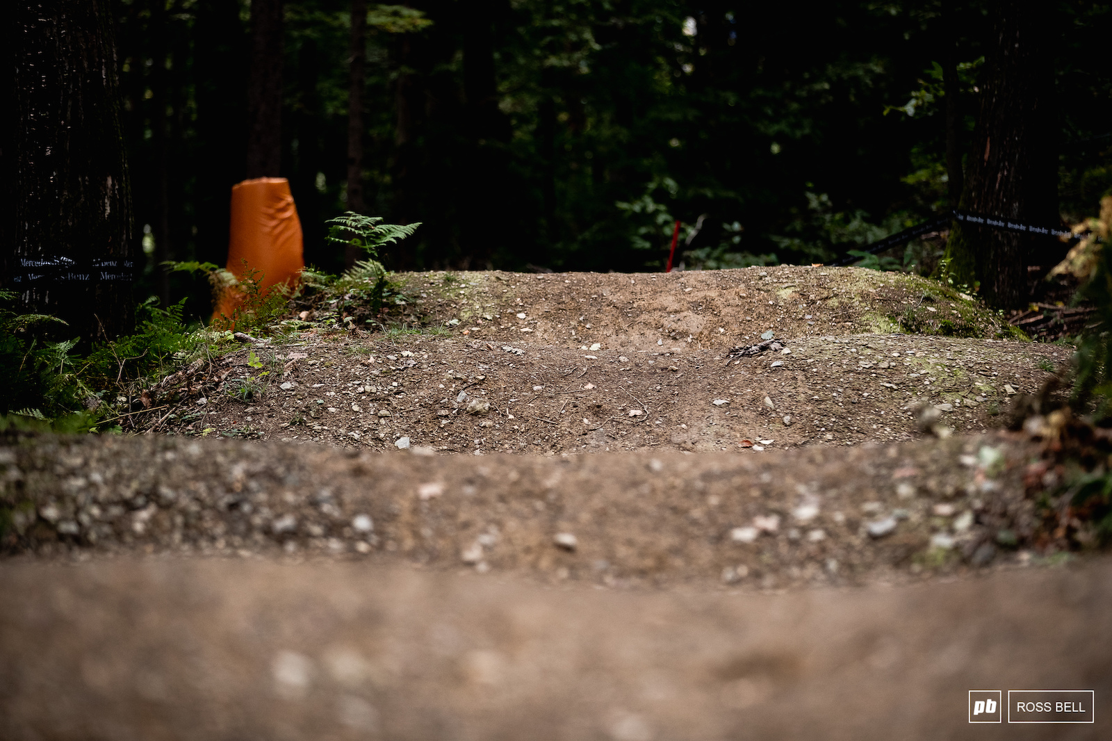 The closing section of track is more manmade and features lots of rollers jumps and berms.