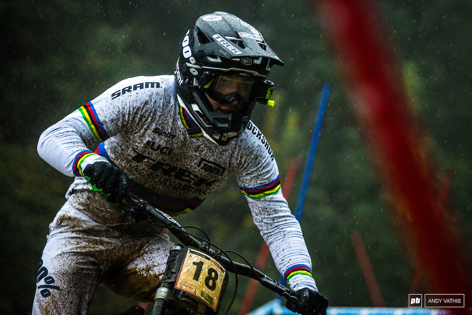 Reece Wilson proved he s no one hit wonder. First in qualies by a sizable margin in the worst possible weather and track conditions. Hats off.