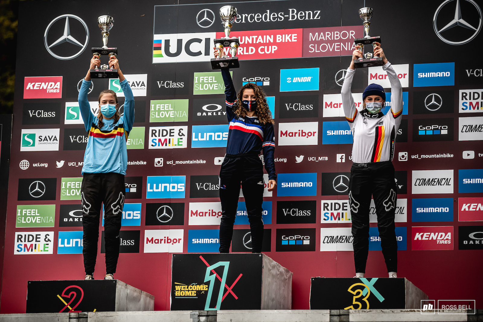 Your top 3 junior women 1st Leona Pierrini 2nd Siel Van Der Velden 3rd Anastasia Thiele