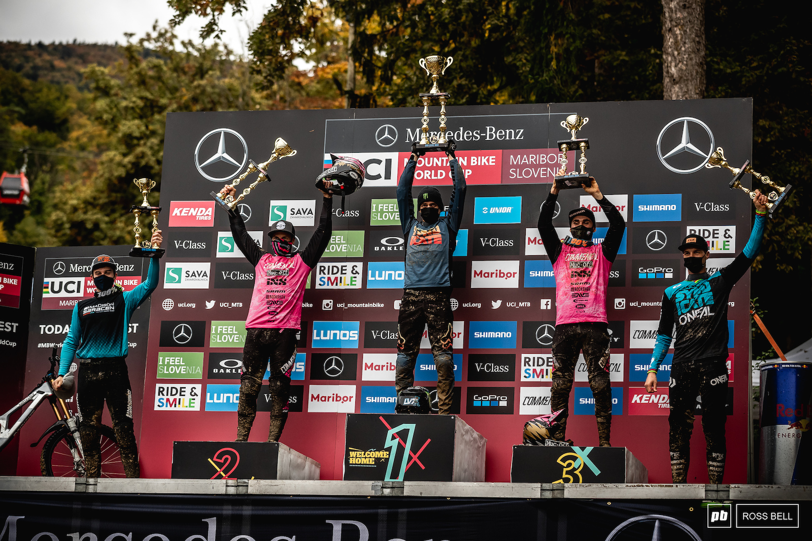 Yout top 5 elite men 1st Loris Vergier 2nd Remi Thirion 3rd Thibaut Daprela 4th Matt Walker 5th Greg Minnaar