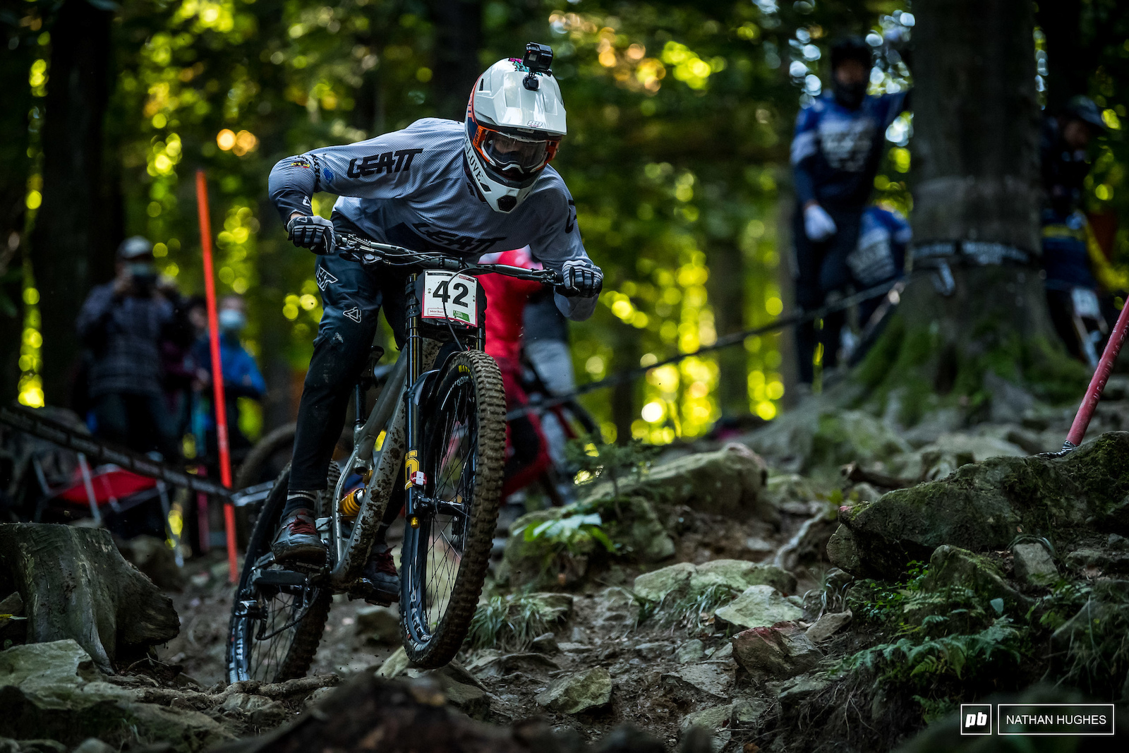 Andreas Kolb smashed into the hot seat and held on to a career-best 15th place pipping fellow Austrian David Trummer.