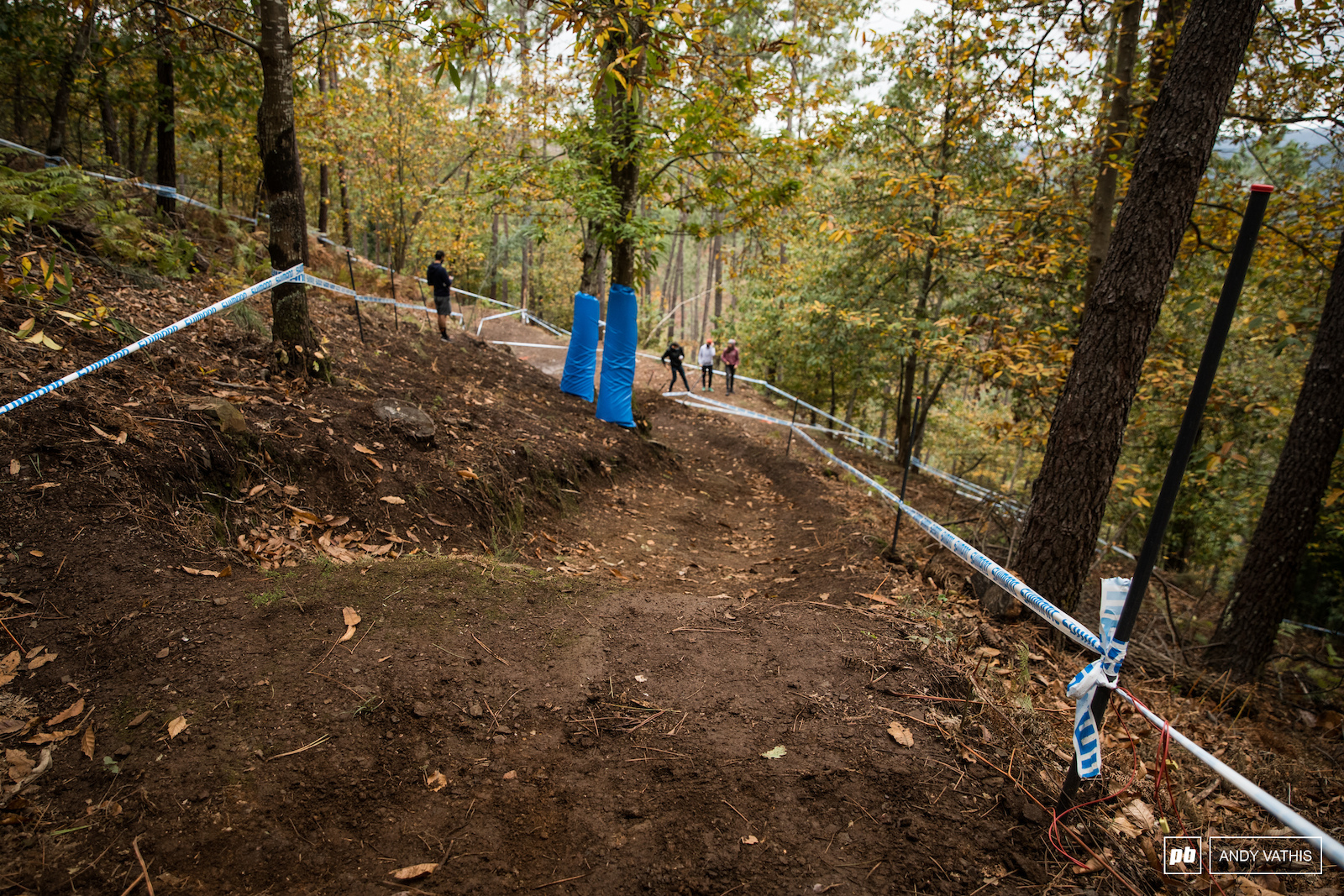 The wide tape sections on this track offer proper line choices that benefit each style of rider differently. Tomorrow s practice will open up lines and put to rest uncertainties.