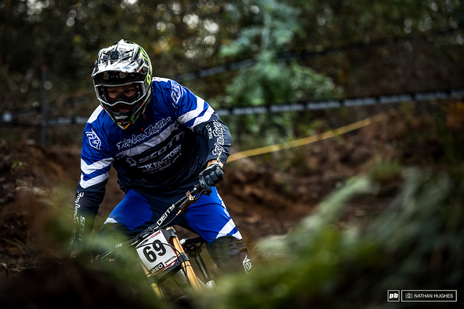 This track is all about the grinning and the gurning as demonstrated by Brendan Fairclough.