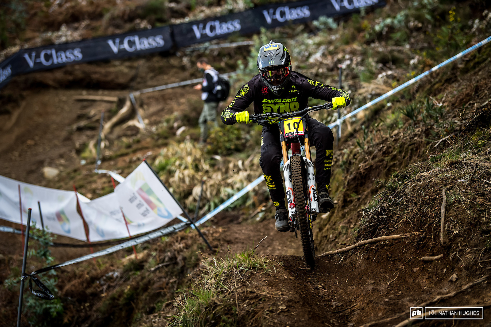 Luca Shaw will look to shut down his team mates tomorrow and if not just join in the Syndicate podium party.