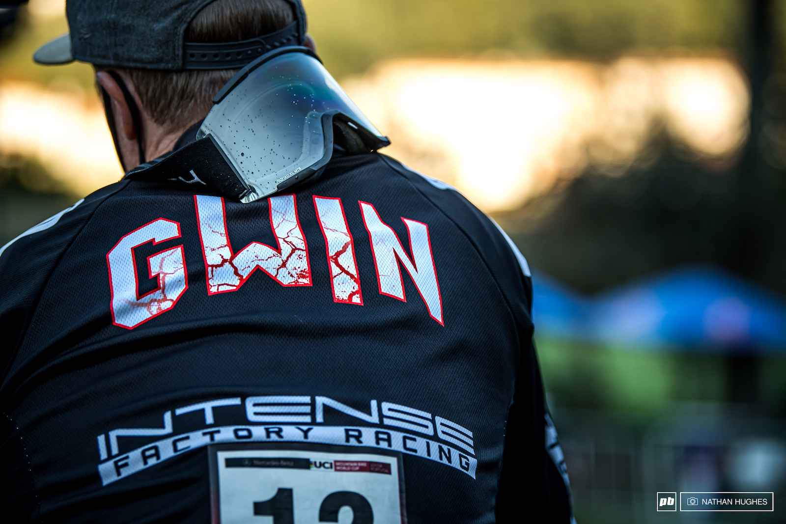 A little sebatical from podium duties for Aaron Gwin and he s back to work. Can he climb further up the ranks on track 2
