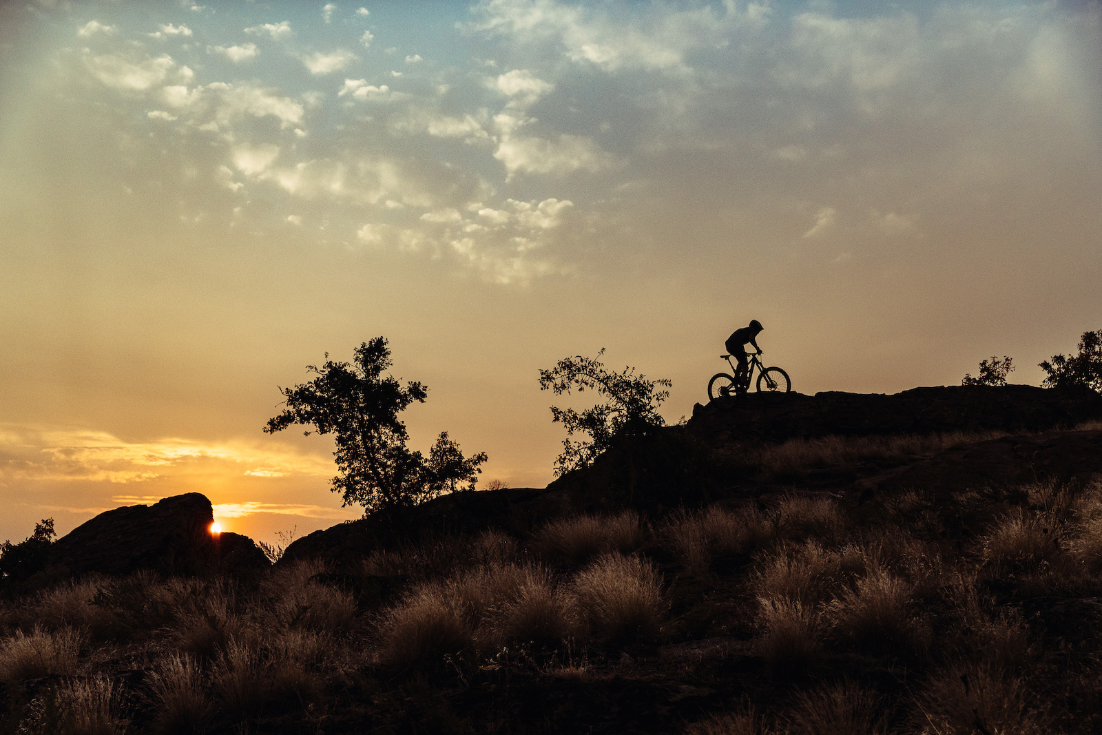 Just minutes from downtown Boise Table Rock offers up short technical laps that are perfect for afterwork sunset sessions.