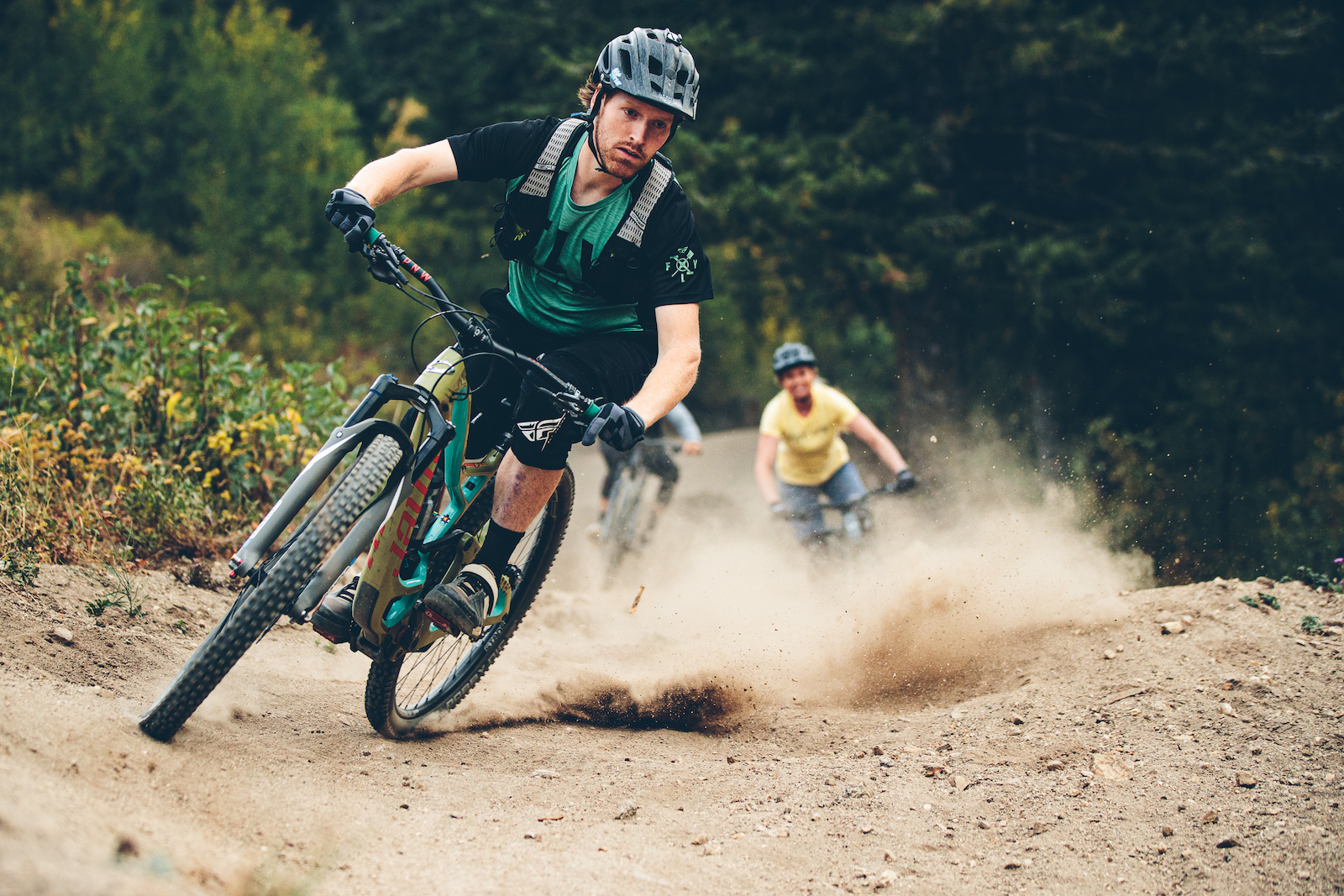 The non profit Bogus Basin has put a massive effort into trail this year. A refelection of how quickly the mountian bike scene in Boise is growing.