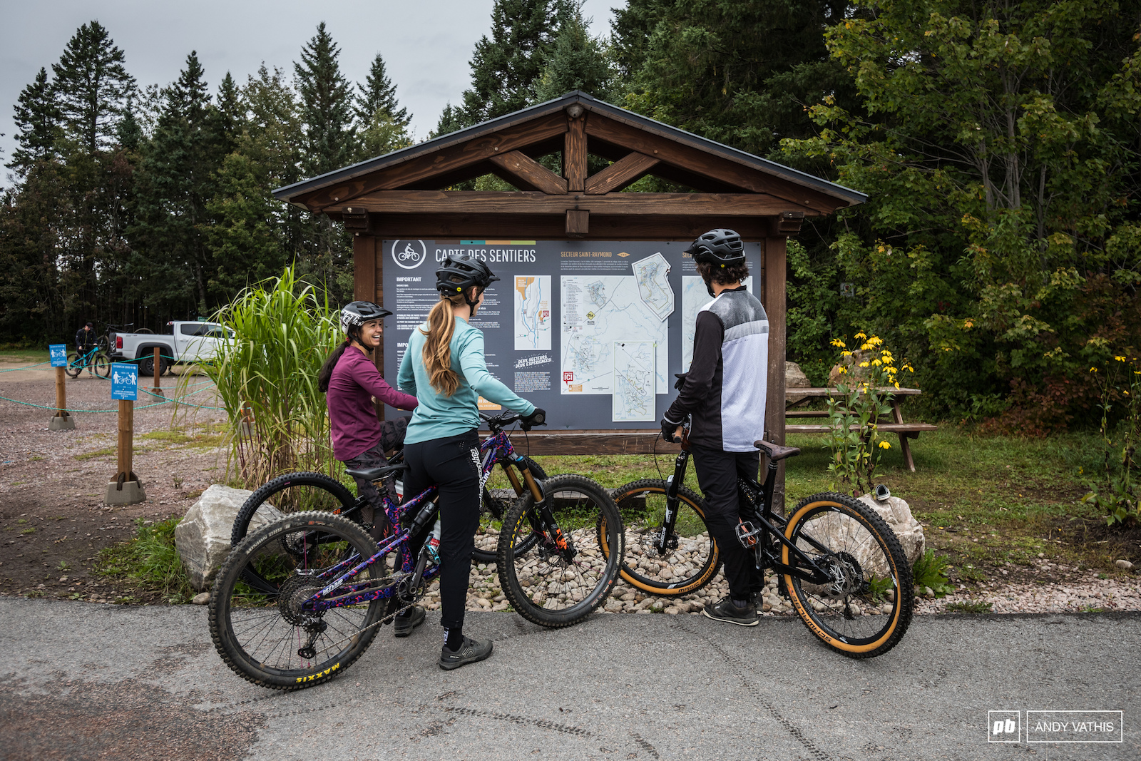 Map checks here are pretty essential considering the mass amount trails you can ride and combine.