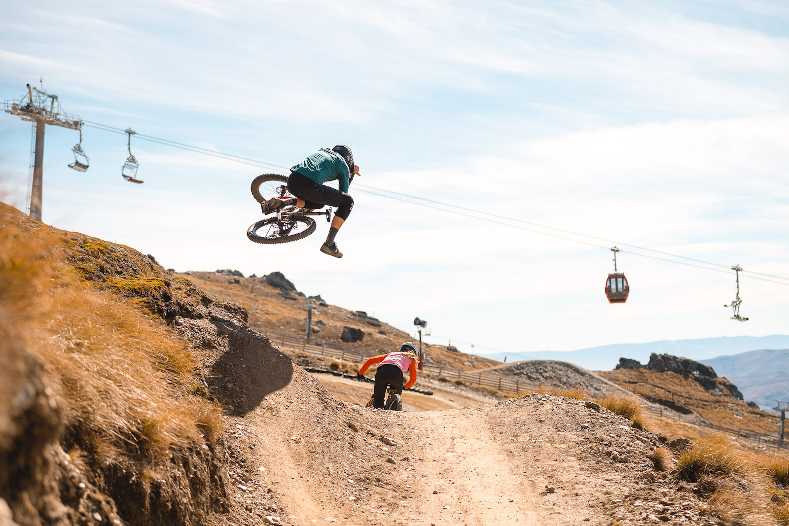 Can t forget about one of the key offerings of Cardrona. The fact it s lift assisted so you can lap all day without having to pedal if that s your thing.