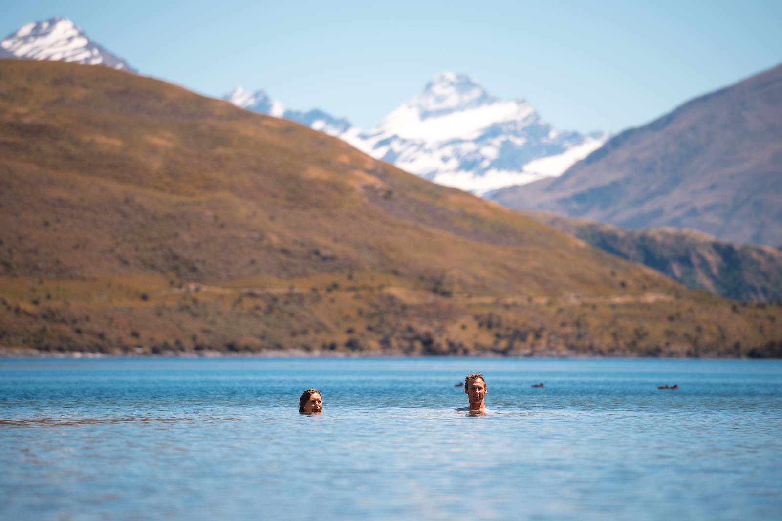 In Wanaka you re always pretty close to the lake where the town gets its name and it s the perfect way to cool off after a big ride
