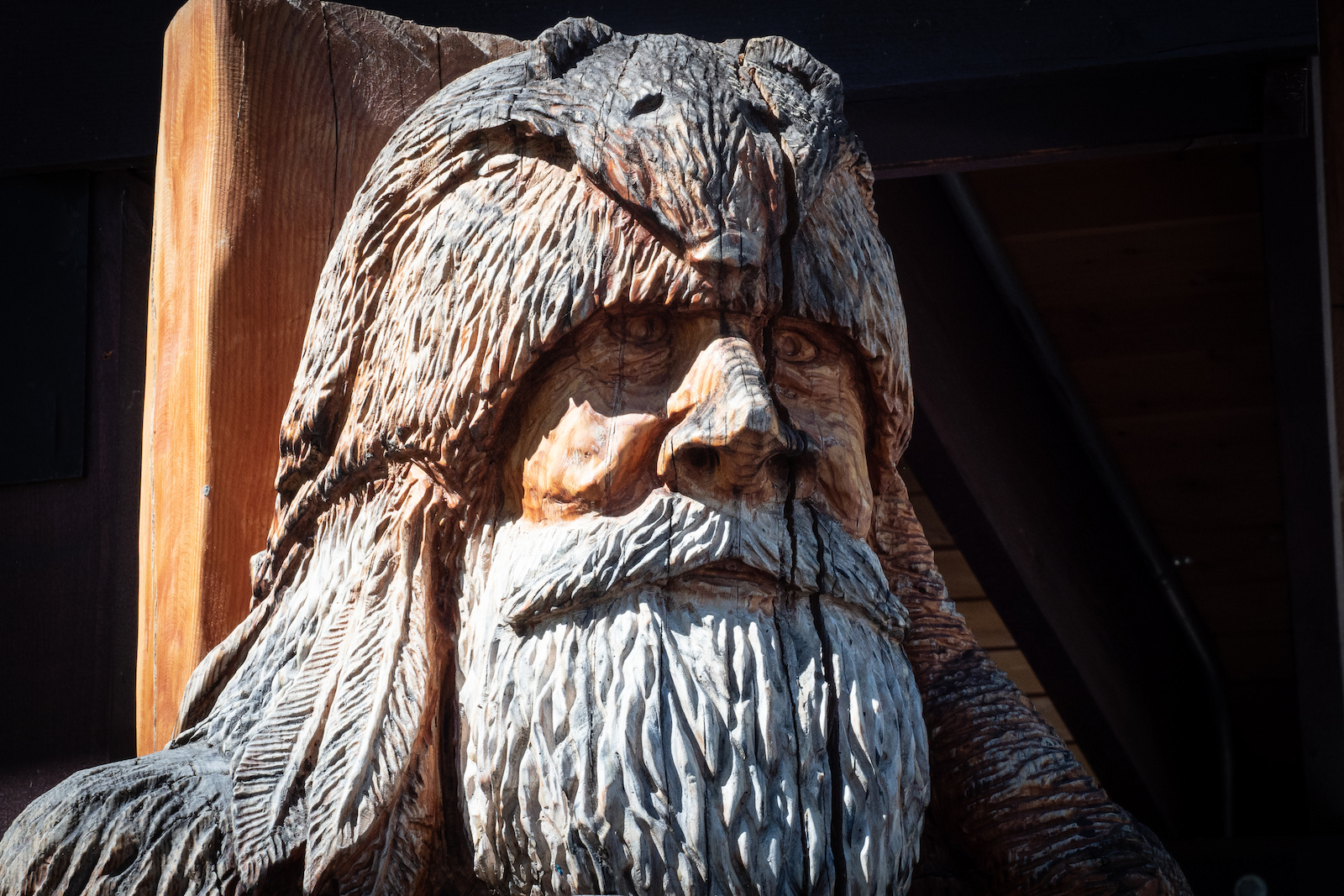 The Griz - a legendary 8 foot tall man raised by bears who can make it snow by shooting his musket into the clouds.