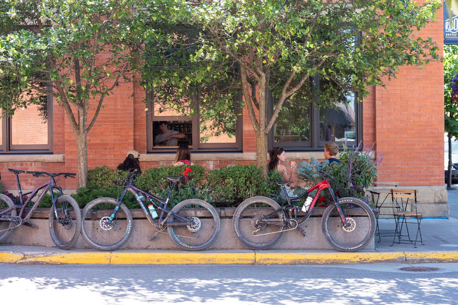 Bikes bikes everywhere