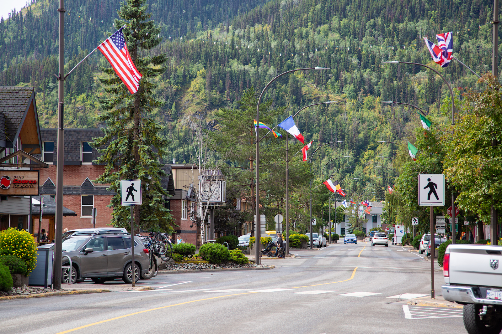 The main drag in Smithers