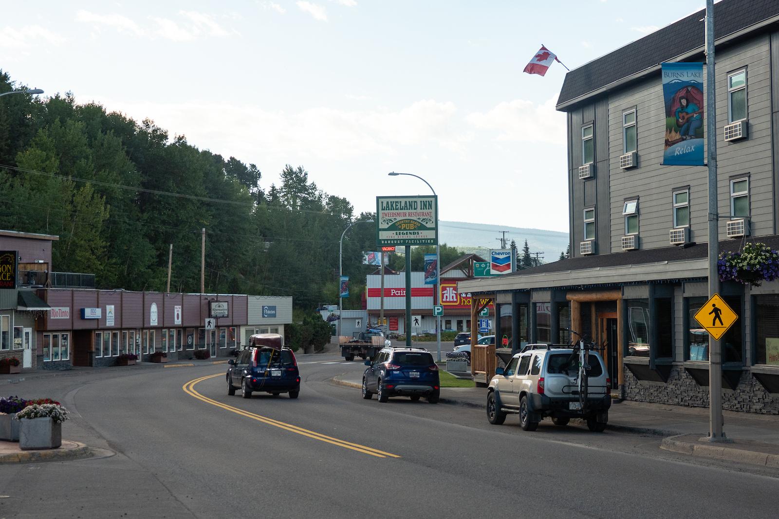 Downtown Burns Lake