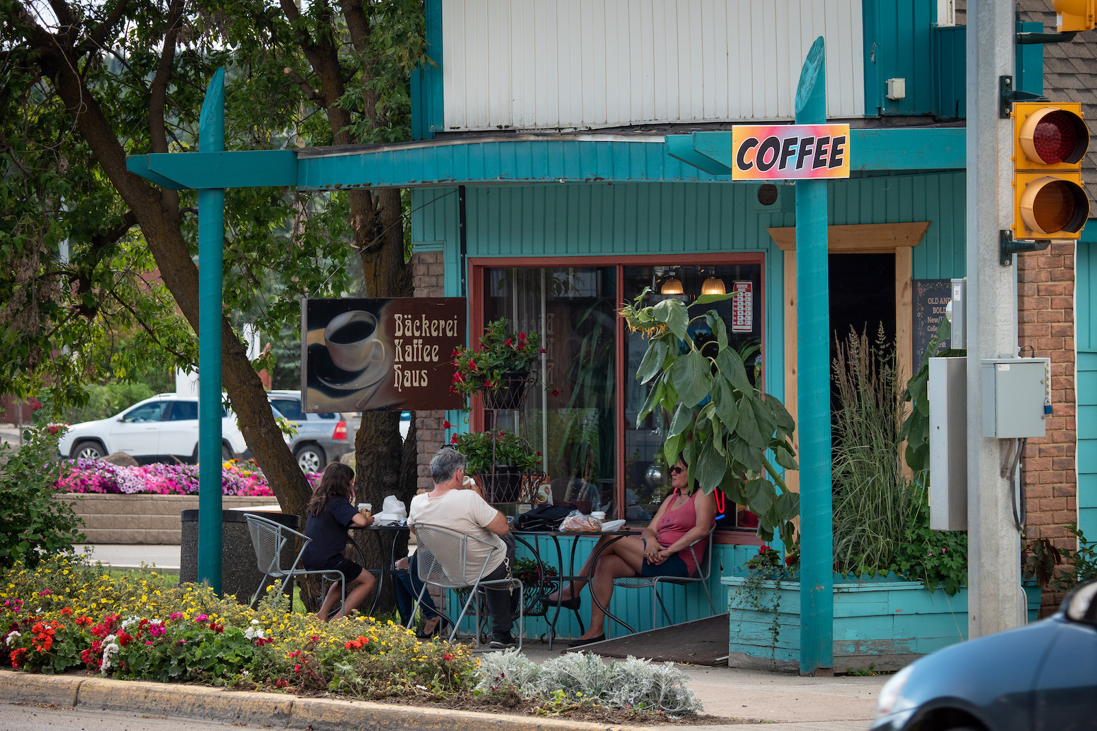 There s a big coffee culture in Burns with lots of options to choose from.