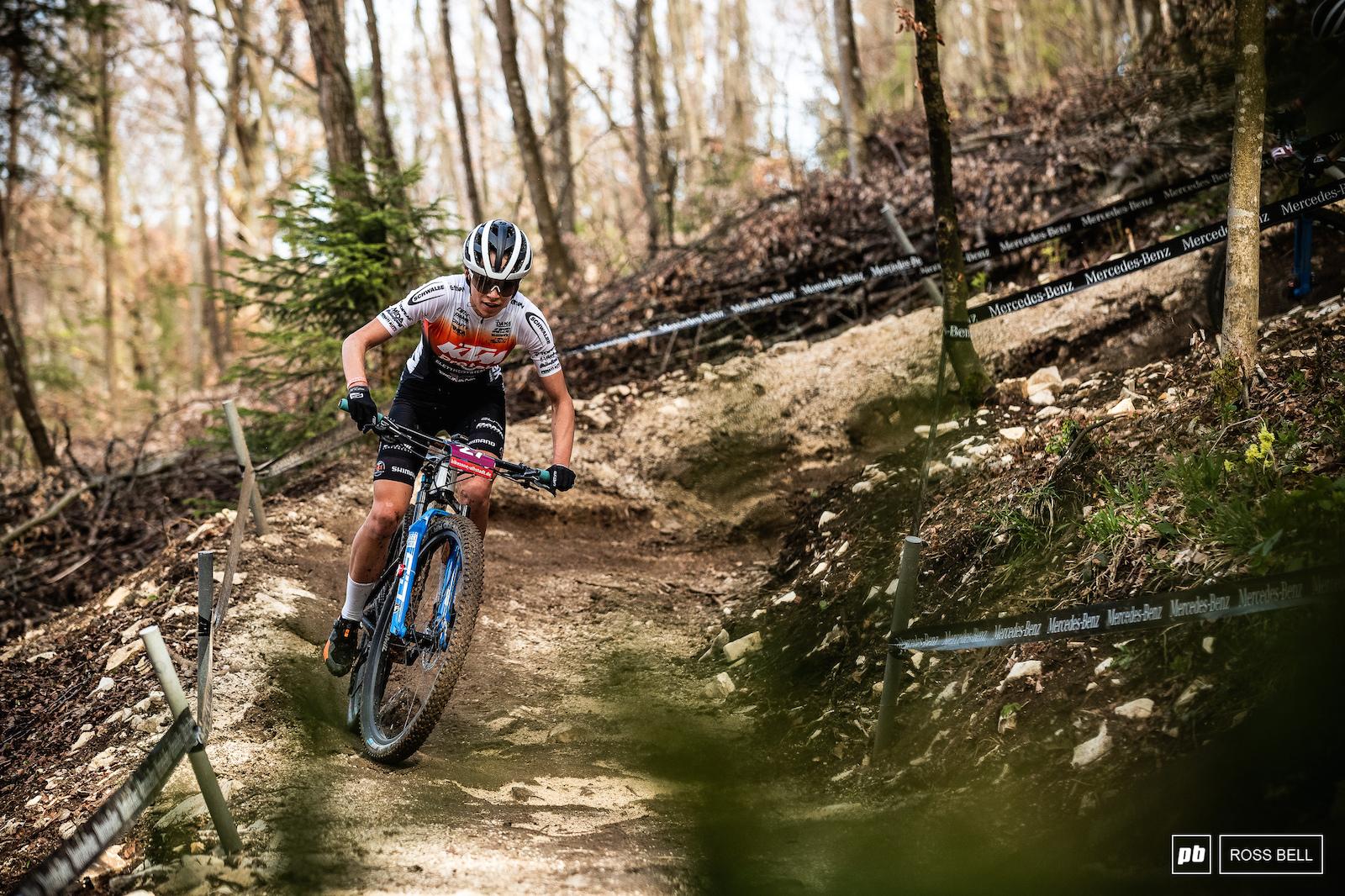 Giada Specia took 5th place in U23 women.