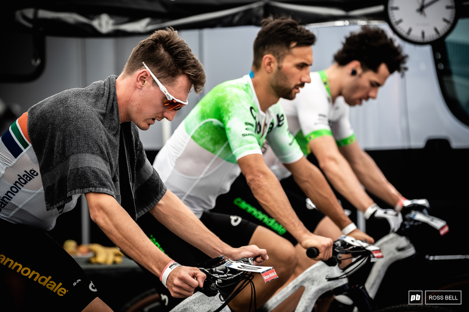 Alan Hatherly was top dog in the Cannondale tent in his first World Cup outing for the team.