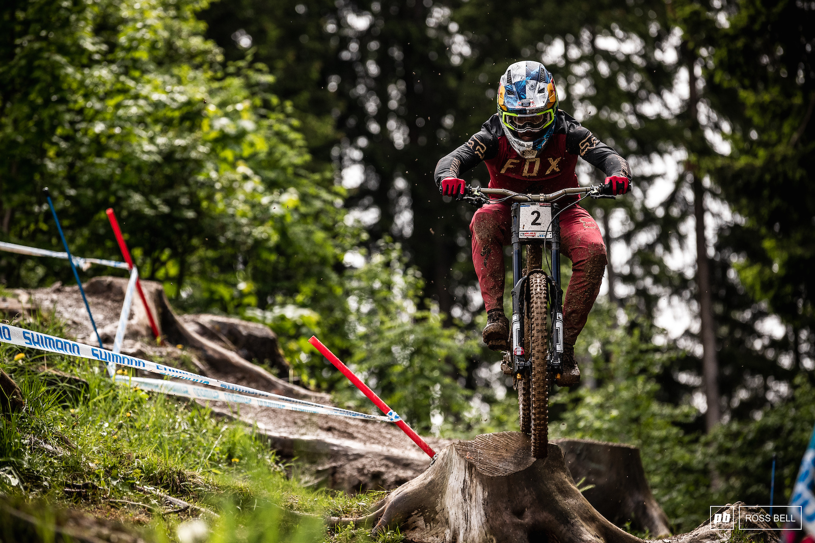Loic Bruni had a slightly bumpy run-up to the opening World Cup round but it didn t seem to be holding him back on track.