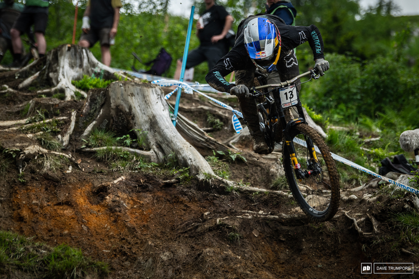 Finn Iles getting loose bout riding it out