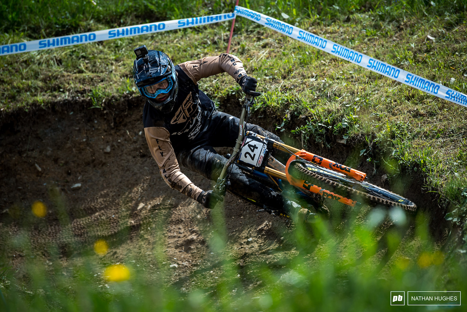 Bernard Kerr loves a bit of Leogang and has found himself on the podium before.