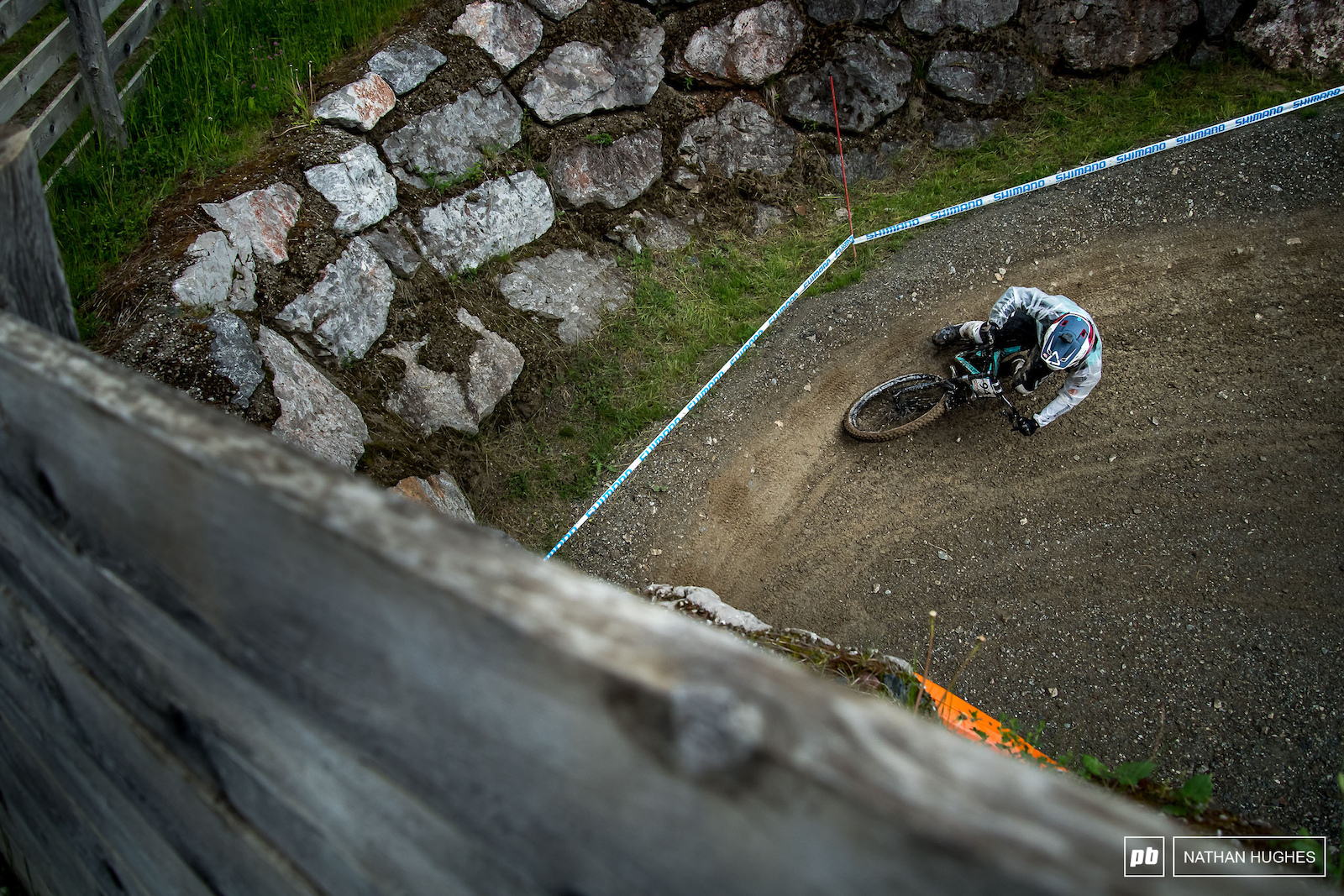 Luke Meier-Smith feeling the G s into another tunnel.