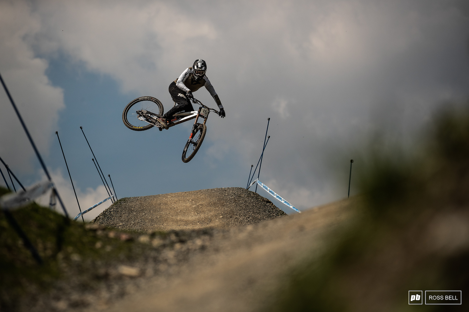 Dakotah Norton throwing style over one feature...