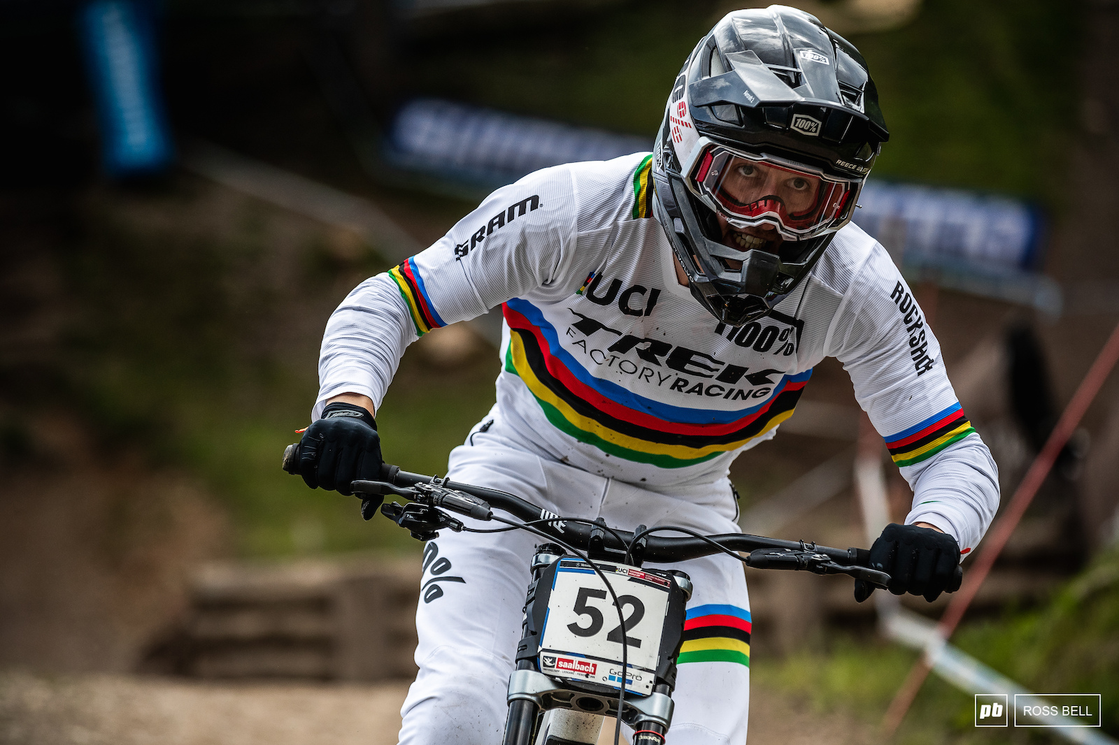 Returning to the scene of the crime. Reece Wilson back up his World Champs win with a 4th place in very different conditions.