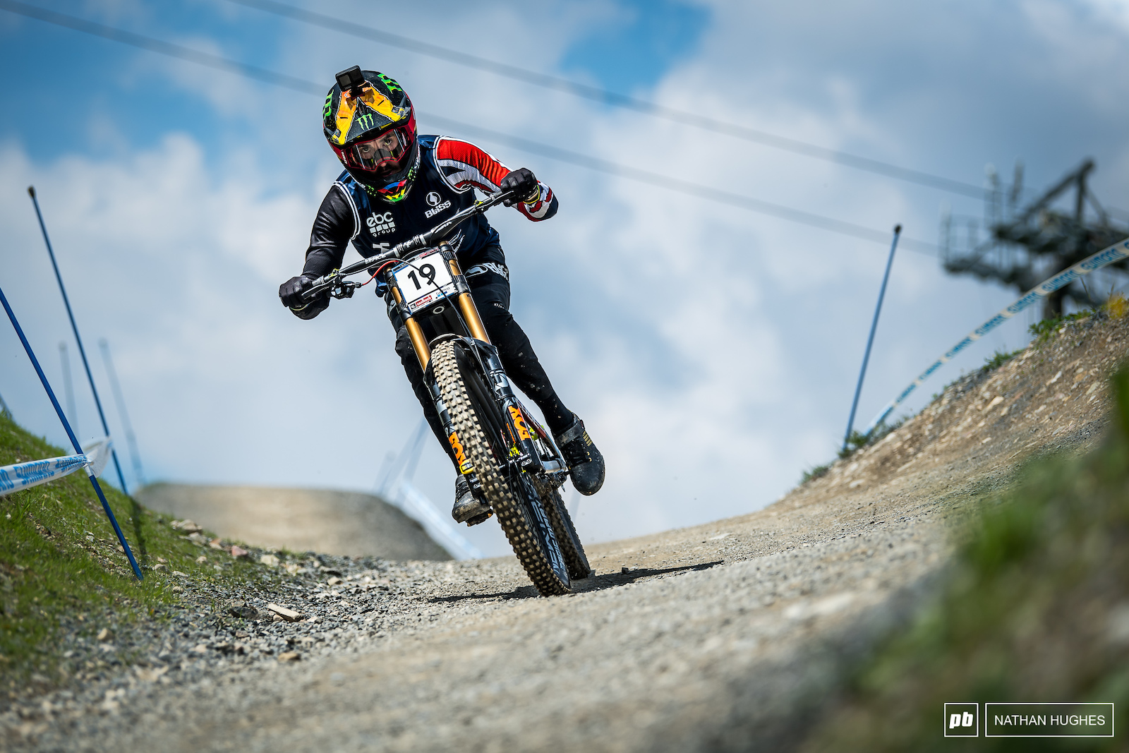 Danny Hart looked like he would be getting a long awaited Leogang podium but would miss out to Coulanges by a couple of tenths.