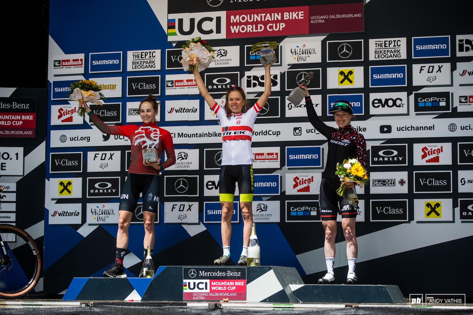 Your top 3 U23 women 1st Mona Mitterwallner 2nd Kata Blanka Vas and 3rd Caroline Bohe