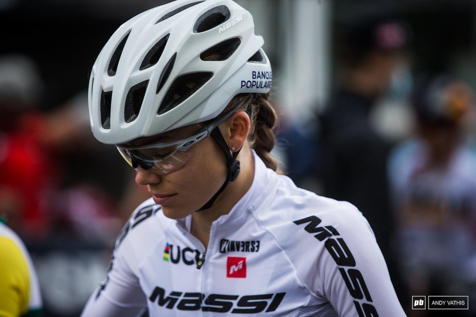Loana Lecomte has been a force to be reckoned with. She s raced more solo laps recently as if she d been out for a training ride.