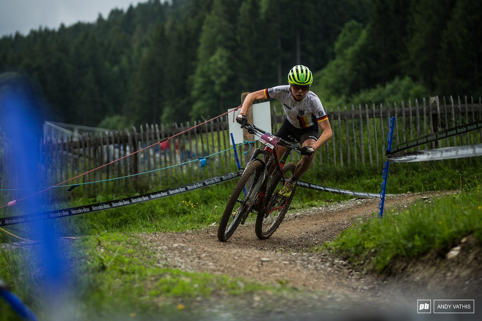 Fifth place for Leonie Daubermann.