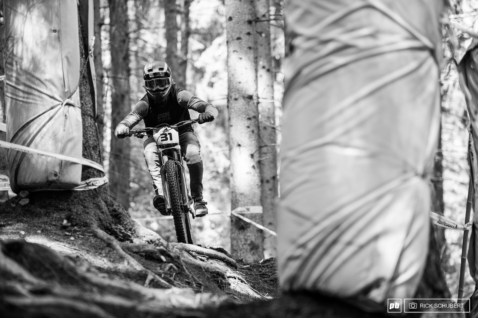 Adrian Loron is pure talent on the bike. Just 9 seconds seperated him to the top field of world cup racers.