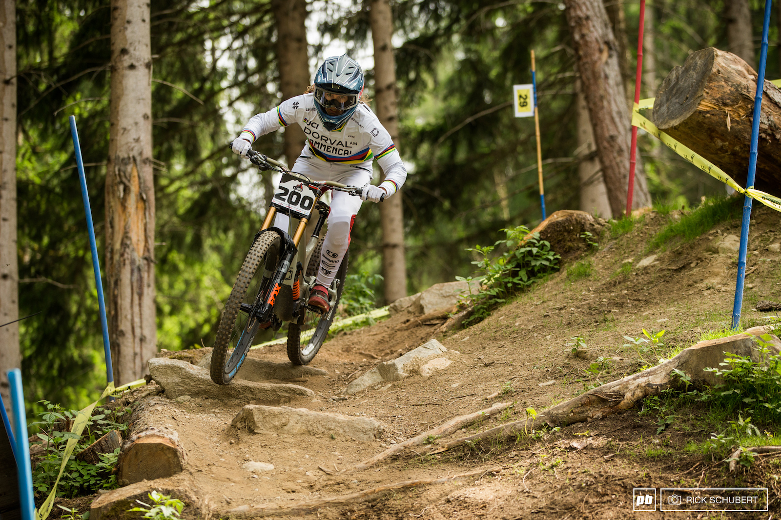 Cam Balanche did her first Crankworx and seemed to enjoy the different disciplines