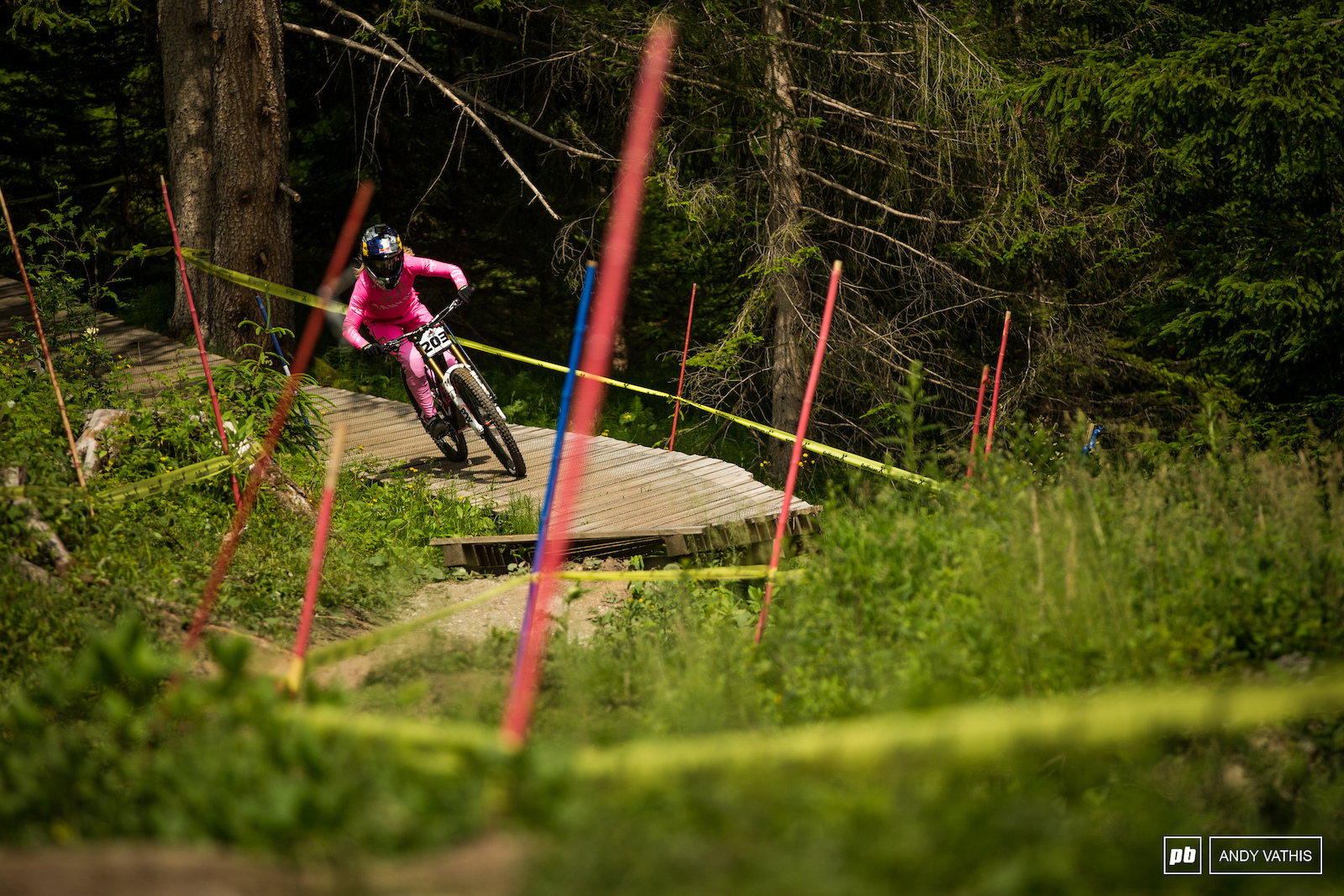 Tahnee Seagrave is back on her groove and into third.