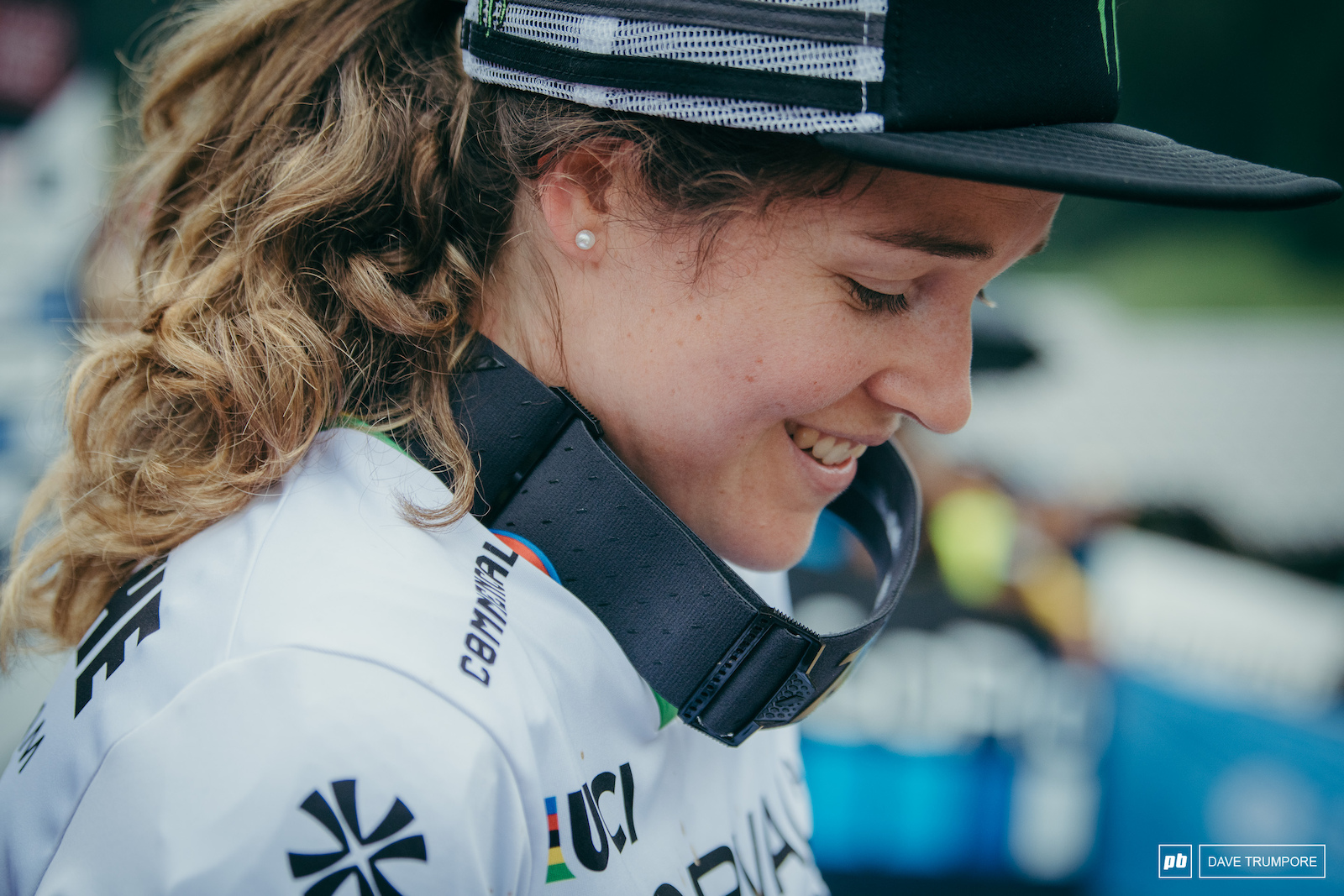 Camille Balanche happy finish on the podium and retain her lead in the overall