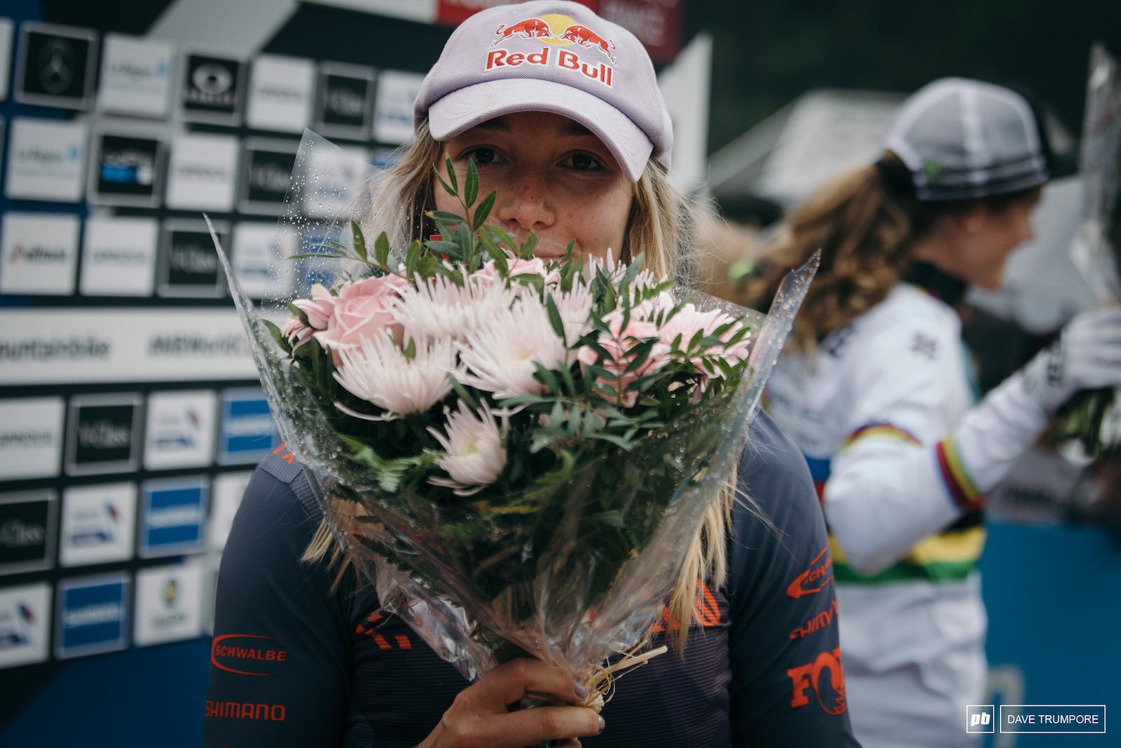Happy and humble. Today s elite women s winner Tahnee Seagrave
