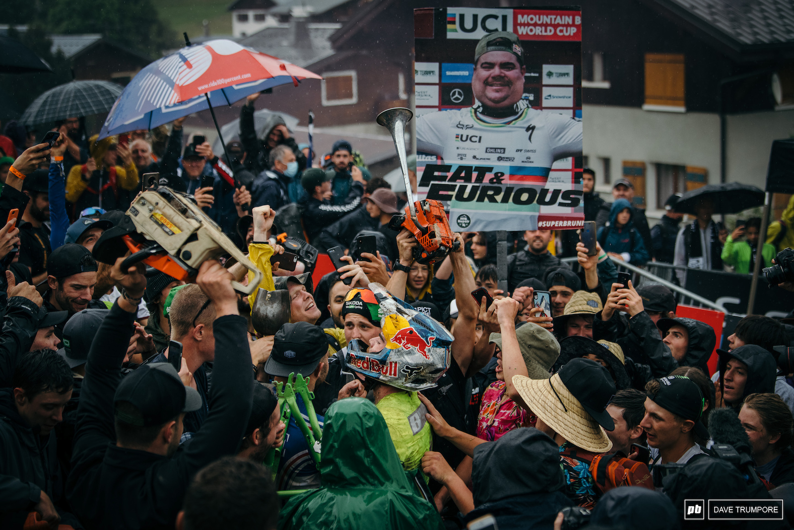 Win or lose the French crowd came to celebrate Loic Bruni the people s champion of France.