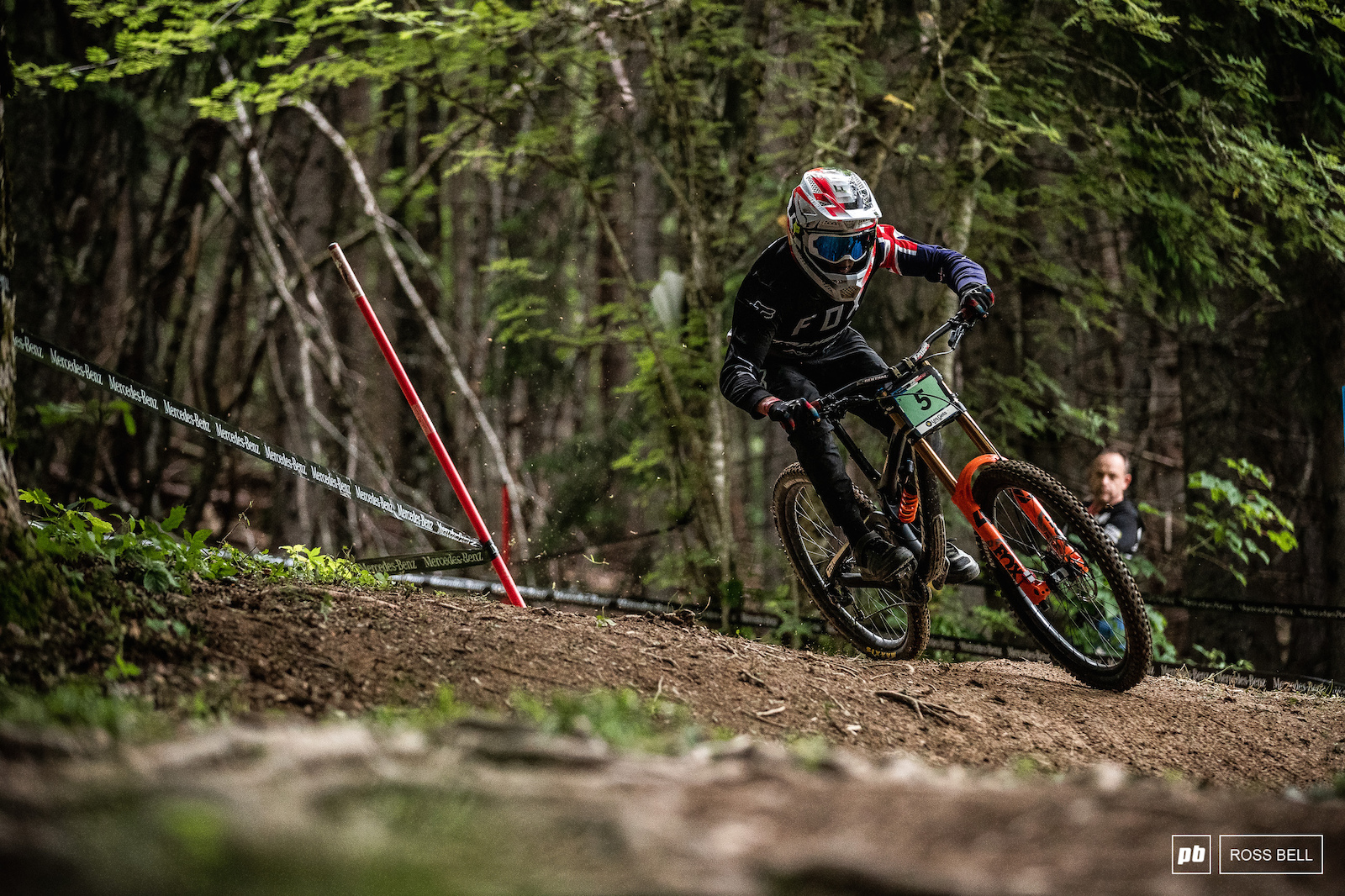 Lachlan Stevens-McNab took third from Oliver Davis by two tenths.