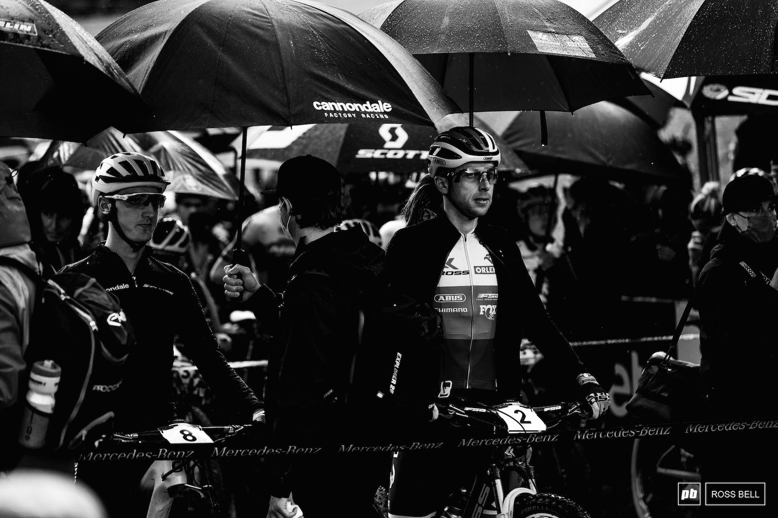Ondrej Cink lining up alongside Alan Hatherly.