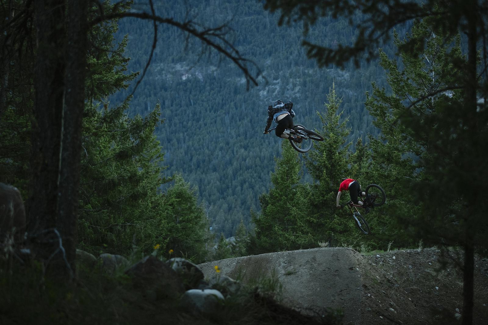 Matt Hunter and Matty Miles in Kamloops British Columbia Canada