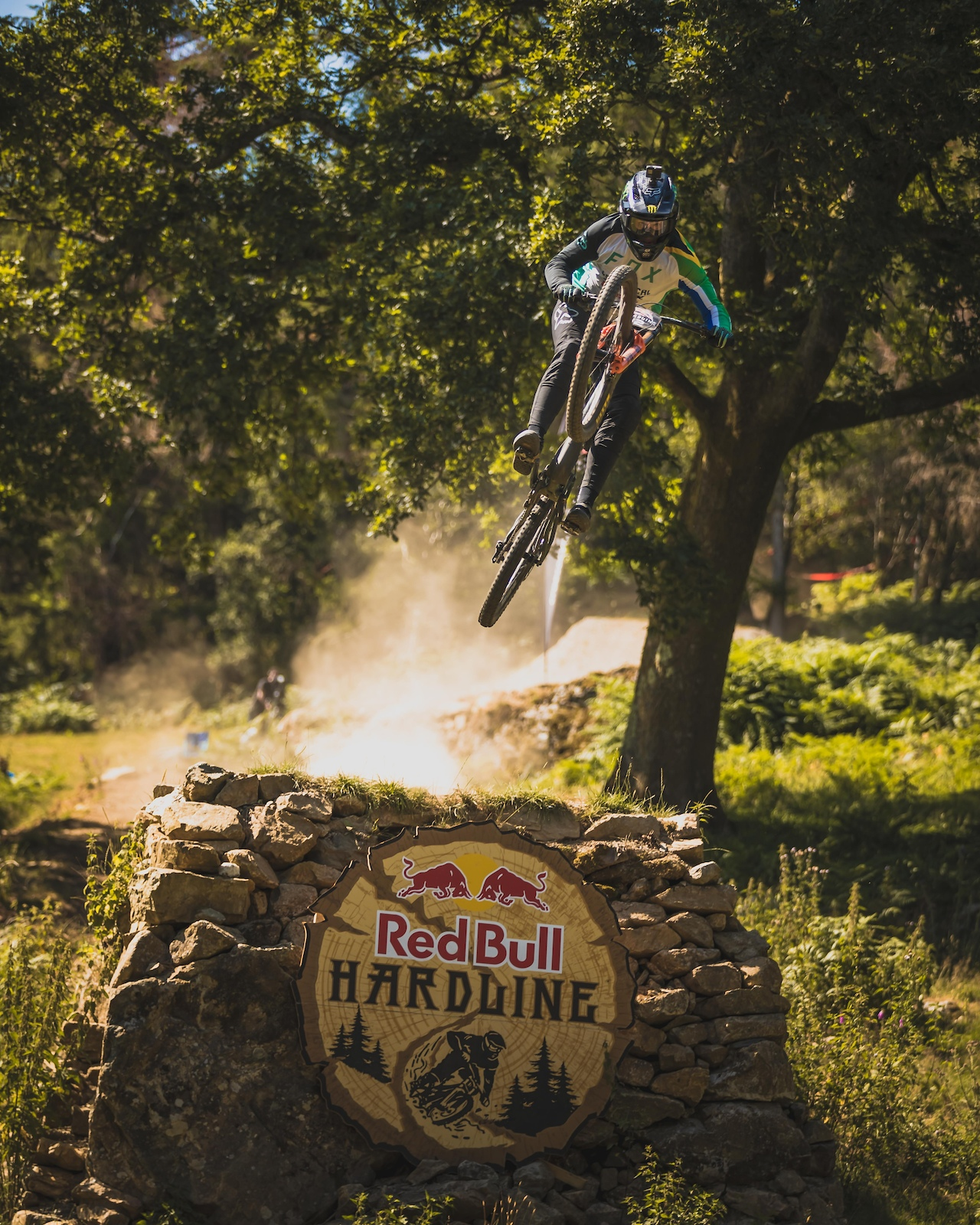 Theo Erlangsen Sending it on the finish straight a respectable dabut appearance for Theo taking home a top 10 finish.