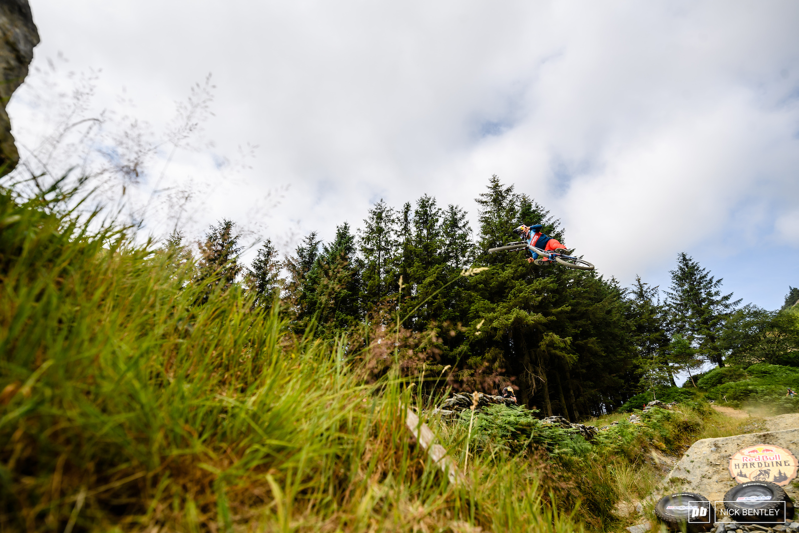 Kade Edwards is never shy on the jumps