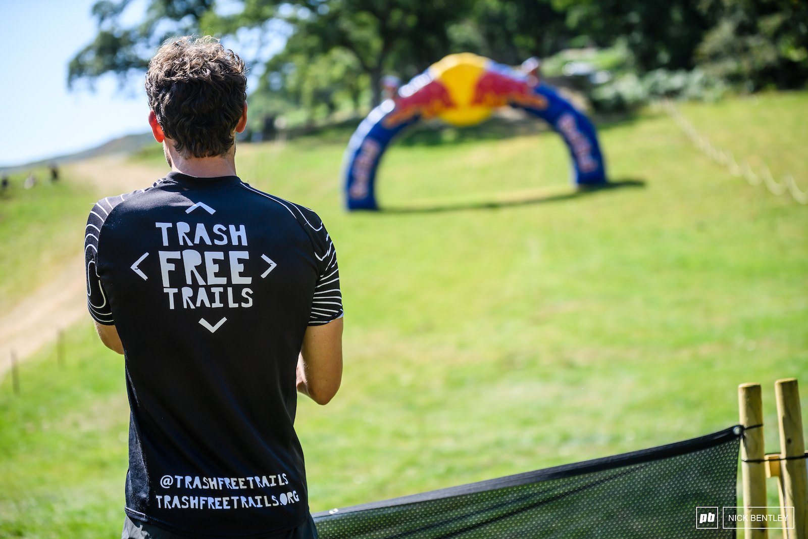It s amazing to see such a high profile event align with such a worthy cause. If you haven t already check out Trash Free Trails on all the usual social media and more importantly always take your own rubbish home.