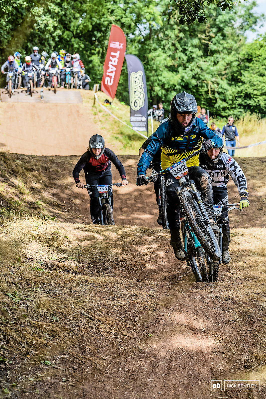 James Sankey had another good weekend on the 4X bike with a second in the 16-16 boys field.