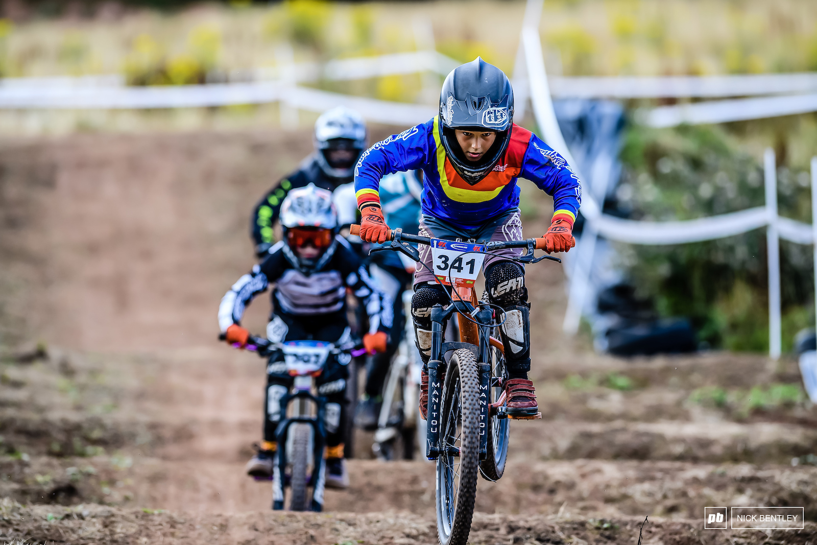 Robin Matern Alonso took home the win in the 10-12 class. After a massive crash that brought practice to a holt.