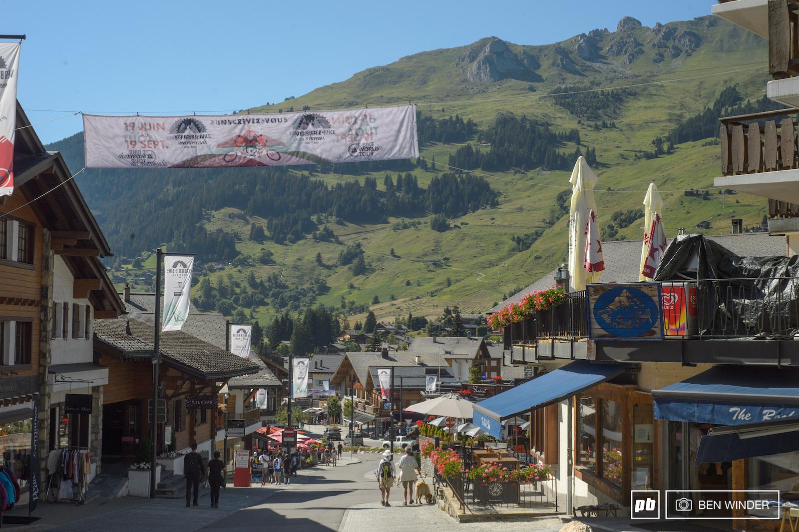 Verbier Destination showcase