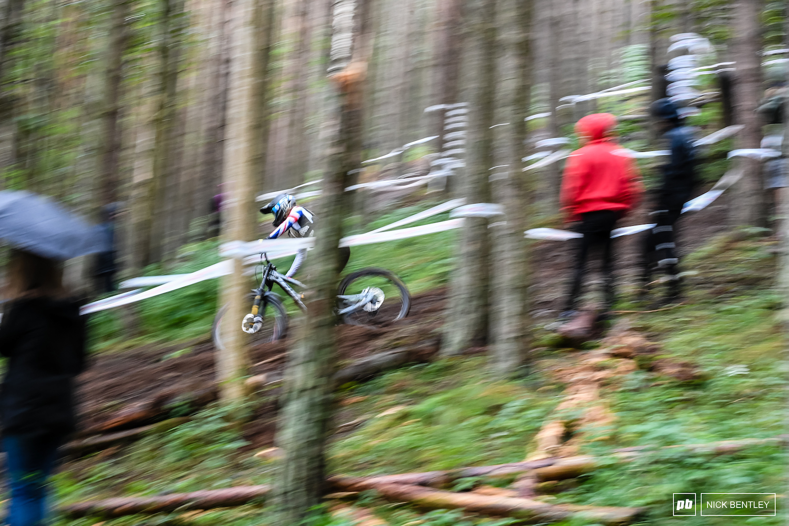 Katherine Sharp on her way to taking the win.