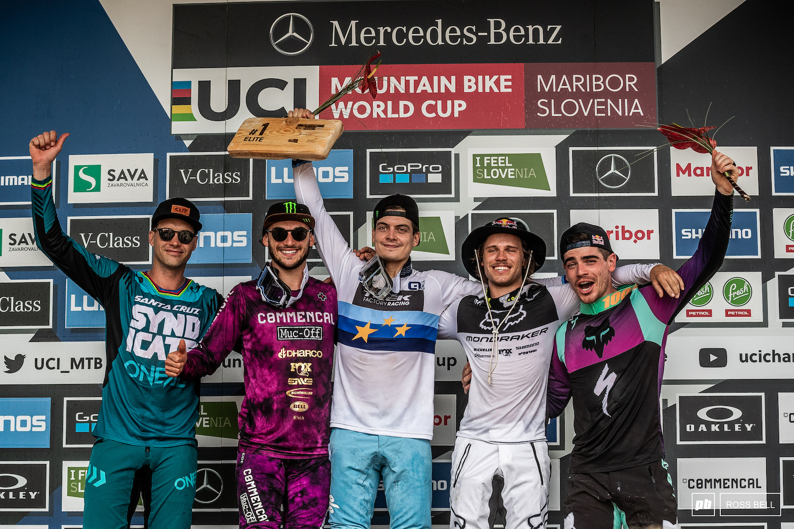 Your top 5 men 1st Loris Vergier 2nd Thibaut Daprela 3rd Laurie Greenland 4th Greg Minnaar 5th Loic Bruni