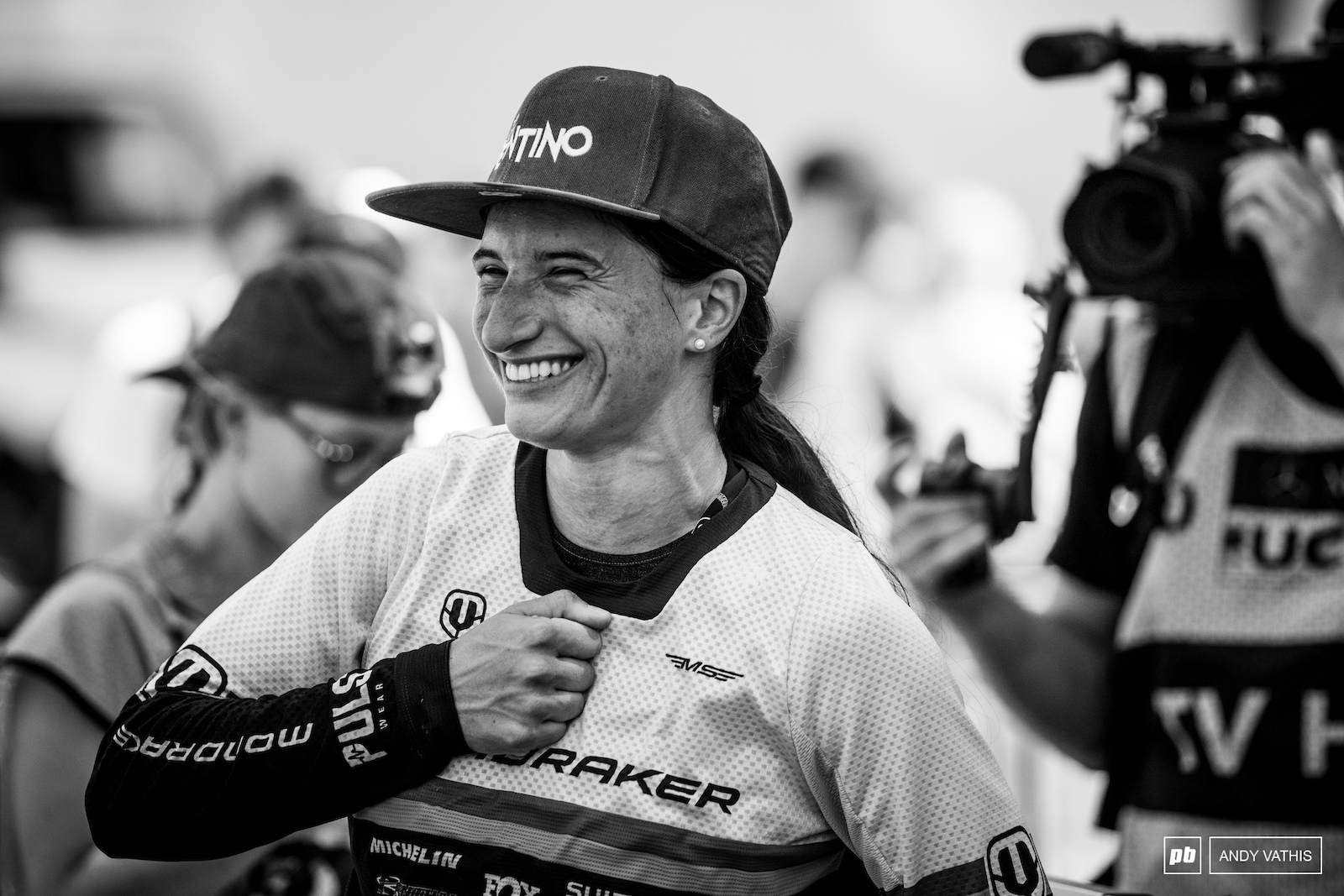 Eleonora Farina was super happy with herself this afternoon.